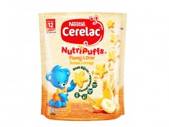 NESTLE CERELAC NUTRIPUFF BANANA ORANGE 50GM